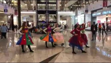 Flash mob at City Center, Bahrain #ShotoniPhoneX