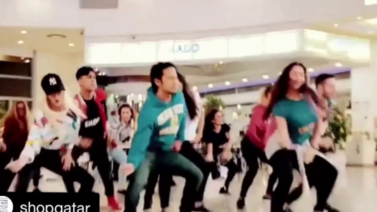 Flashmob, Qatar Shopping Festival