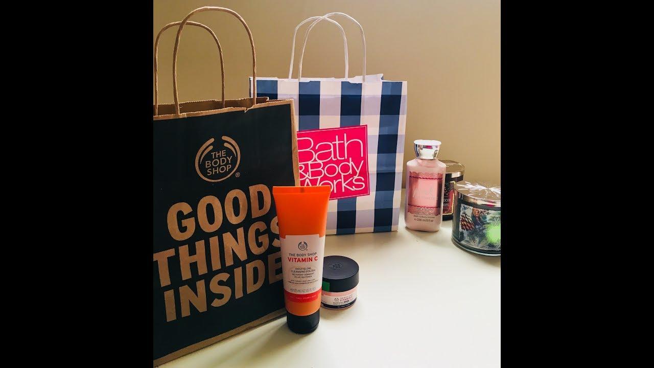 Bath&BodyWorks and The Body Shop Qatar haul