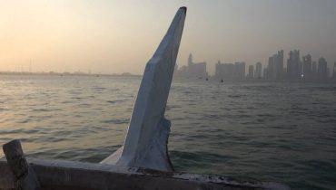 Dhow boat ride in Doha, Qatar
