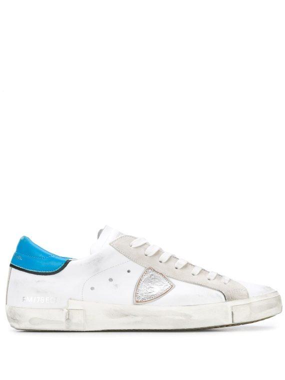 Philippe Model Paris حذاء رياضي 'PRSX' – أبيض