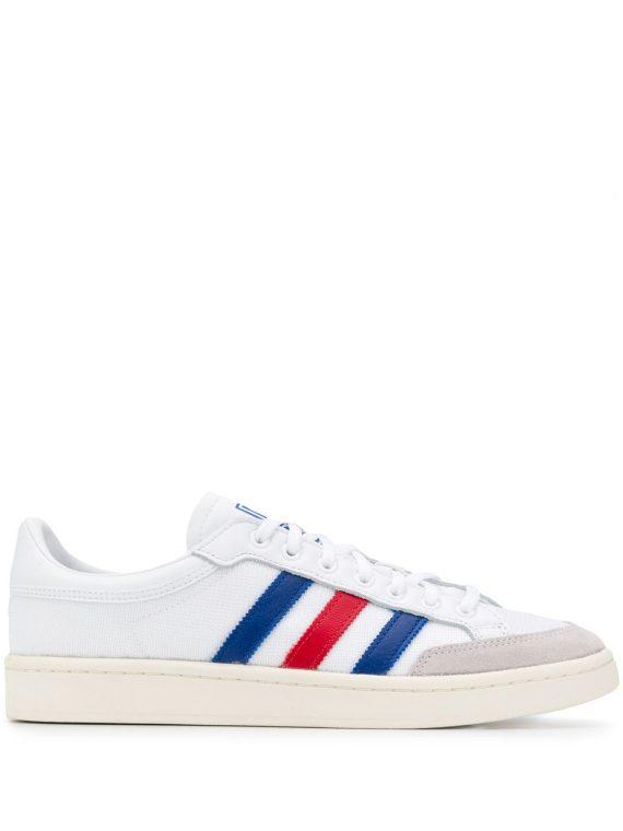 adidas حذاء رياضي اميريكانا بدون رقبة - أبيض